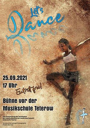 Let's Dance! - Plakat Musikschule