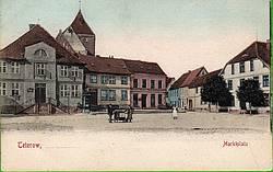 Das alte Rathaus existierte bis 1908.