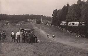 Bergringrennen 1930 Foto: Schering