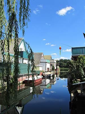 Bootshäuser am Teterower See Foto Koch