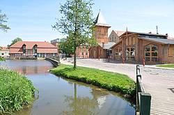 Stadtmühle mit alter Feuerwehr