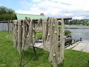 Fischernetze Foto Koch