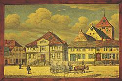 Gemälde von W. Sewohl im Ratssaal Repro-Foto: Erwin Hamerich