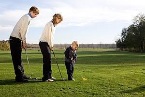 Golfen als Familienspaß Foto Golfclub Teschow