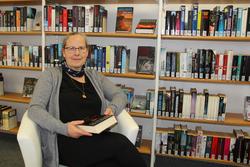 Birgit Paepcke, Leiterin der Stadtbibliothek