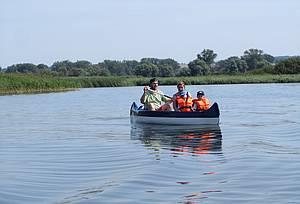 Kanutour auf dem Teterower See Foto Koch
