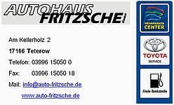 Logo Autohaus Fritzsche GmbH