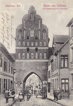Malchiner Tor um 1910