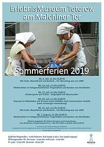Programm in den Sommerferien