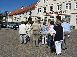 Stadtrundgang Teterow Foto Koch