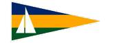 """Logo Spiel-und Sportverein """"Einheit"""" Teterow Abteilung Segeln"""