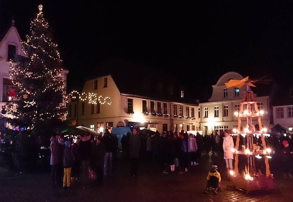 Rathaus in Flammen