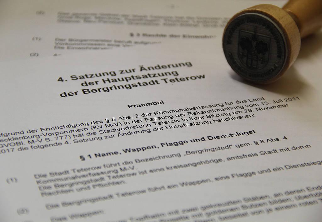 Ortsrecht & Öffentliche Bekanntmachungen