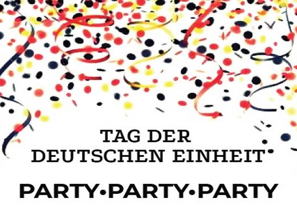 Party zum Tag der deutschen Einheit