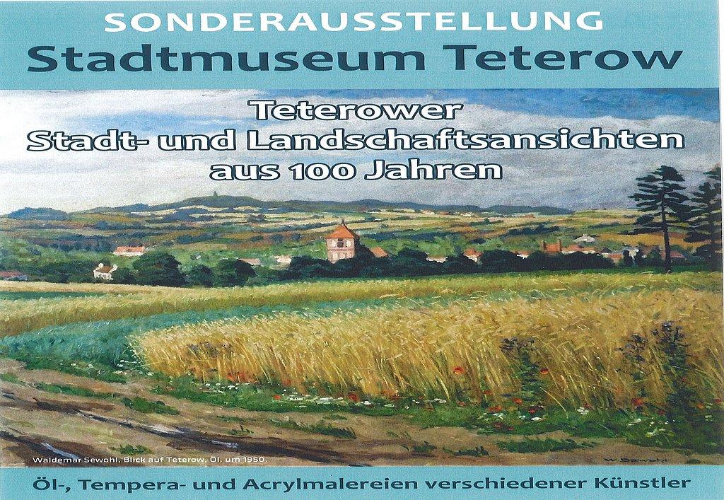 Sonderausstellung Teterower Stadt- & Landschaftsansichten